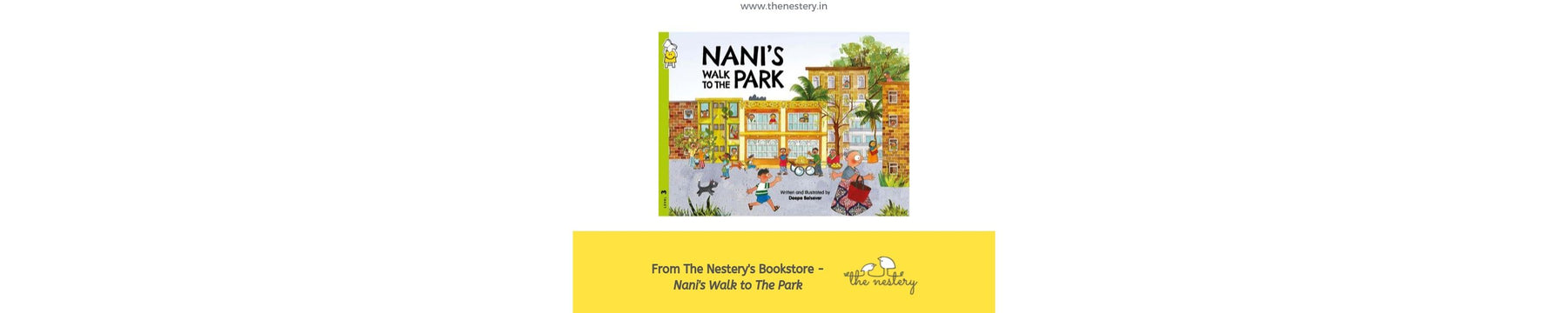 Book Review - Nani's Walk to The Park