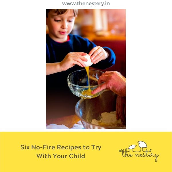 Six No Fire Recipes to Try With Your Child