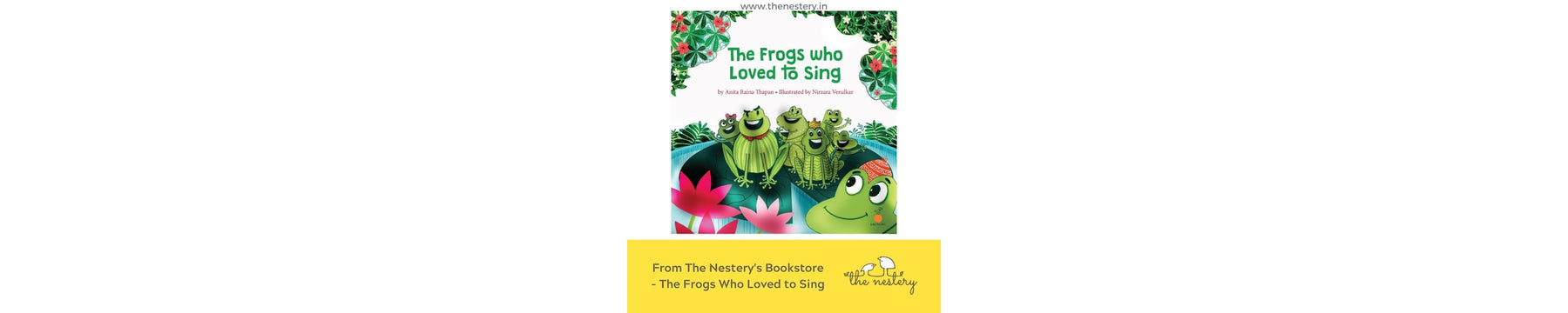 Book Review - The Frogs Who Loved to Sing