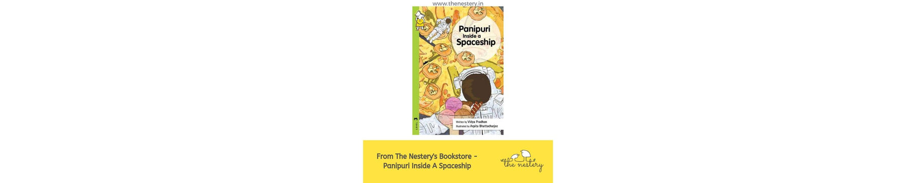 Book Review - Panipuri Inside a Spaceship