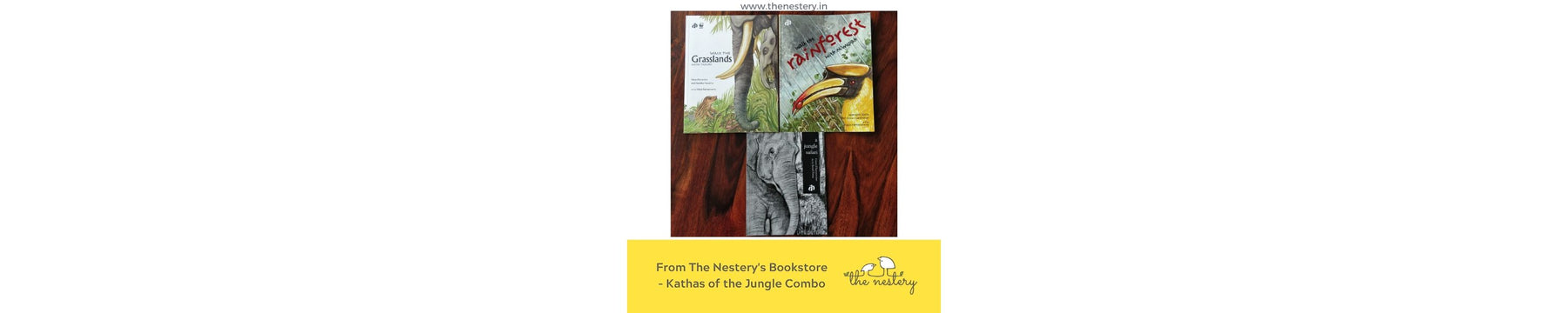 Book Review - Kathas of the Jungle Combo