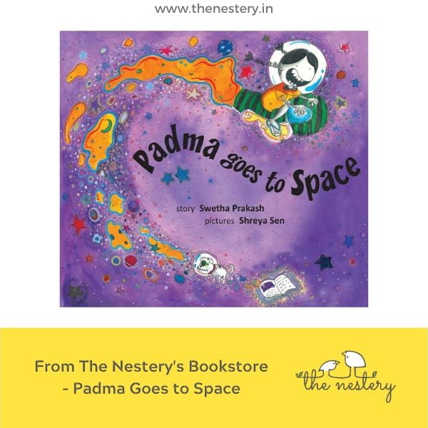 Book Review - Padma Goes To Space