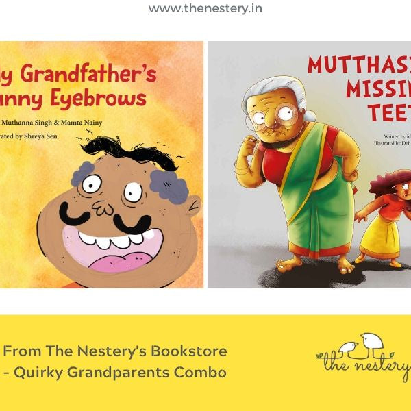 Book Review - The Tota Quirky Grandparents Combo