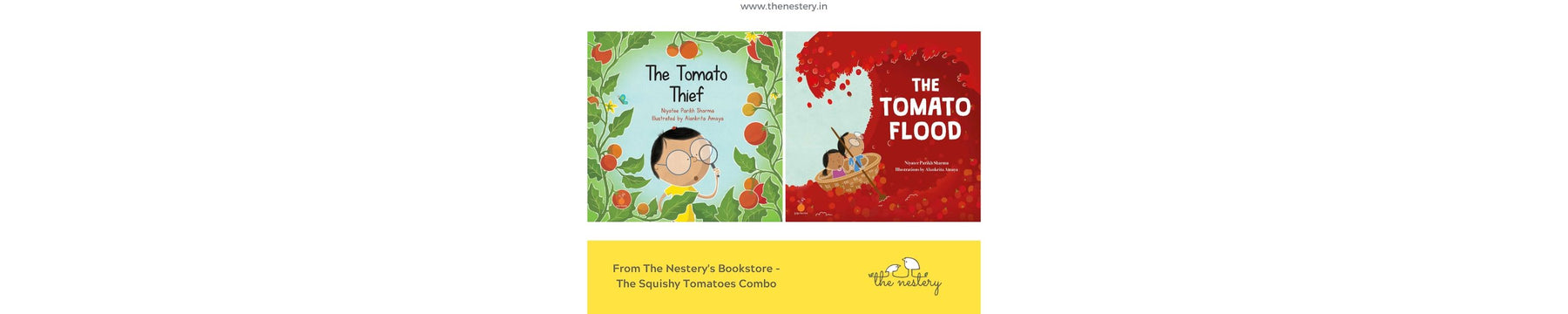 Book Review - Squishy Tomatoes Combo