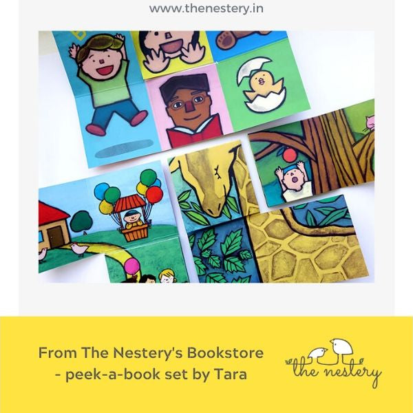 Book Review - peek-a-book Set of 4 Interactive Picture Books