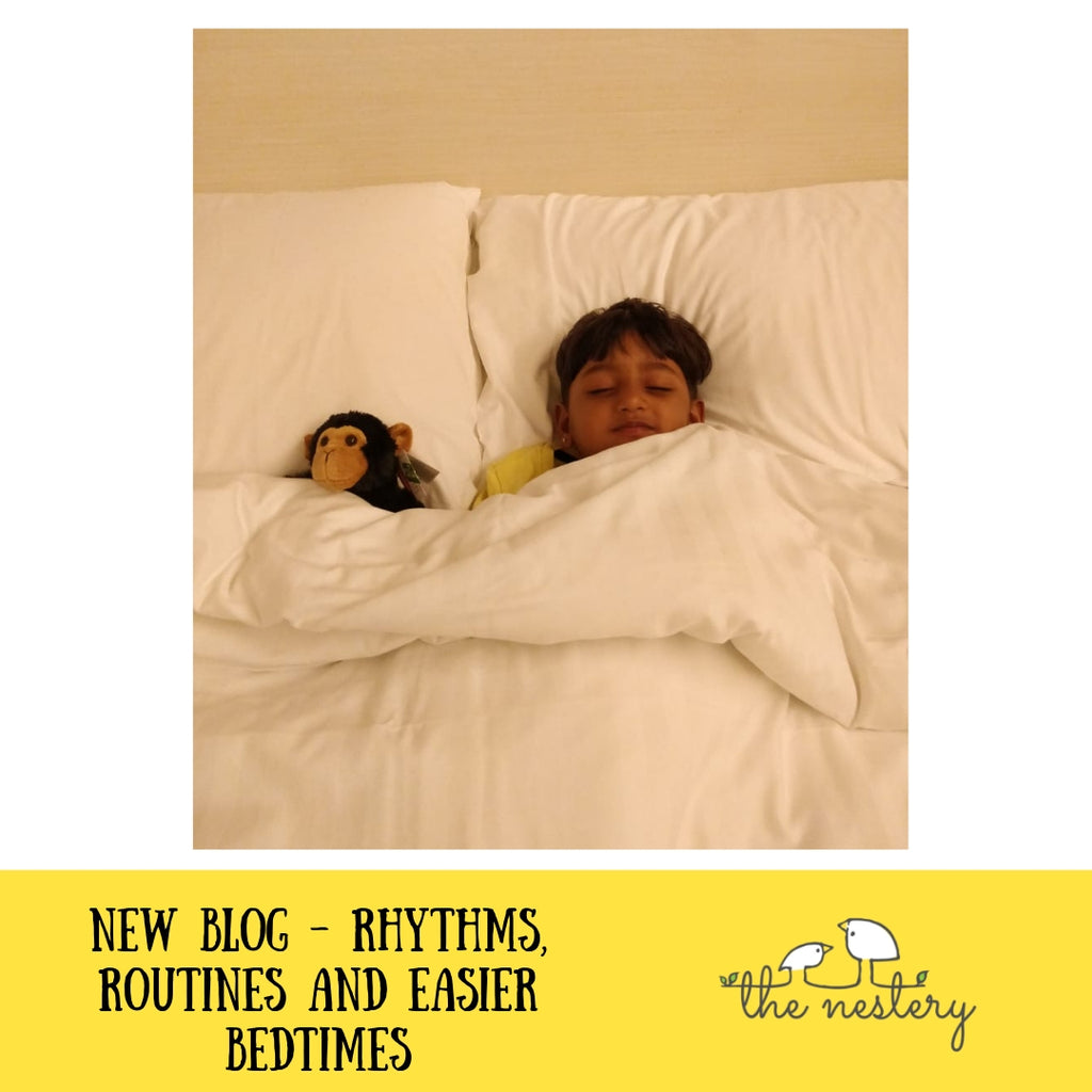 Easier Bedtimes with Bedtime Rhythms