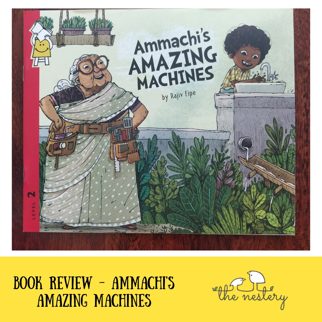 Book Review - Ammachi's Amazing Machines