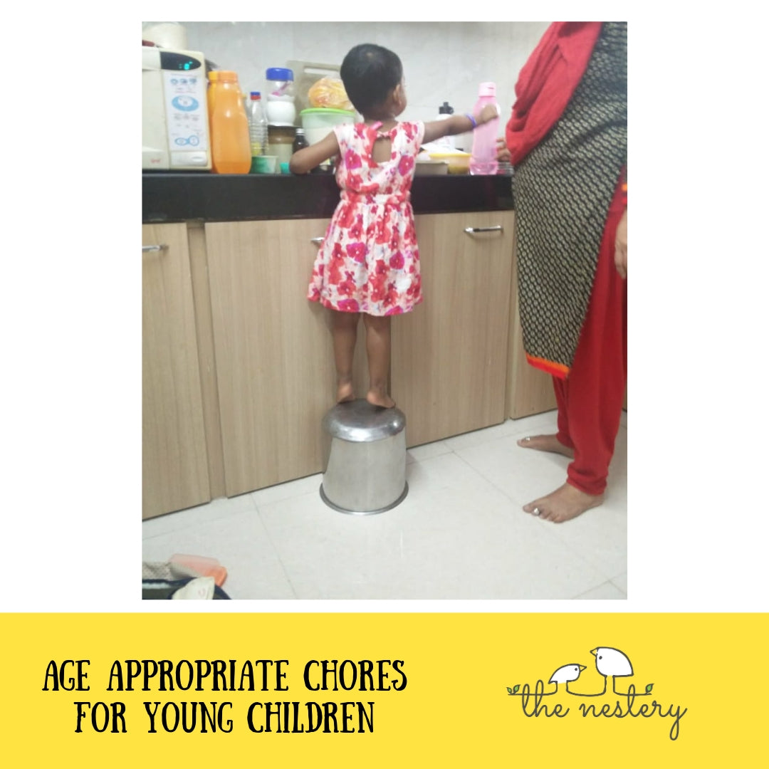 A Labor Day Special Blog – Age Appropriate Chores for Young Children