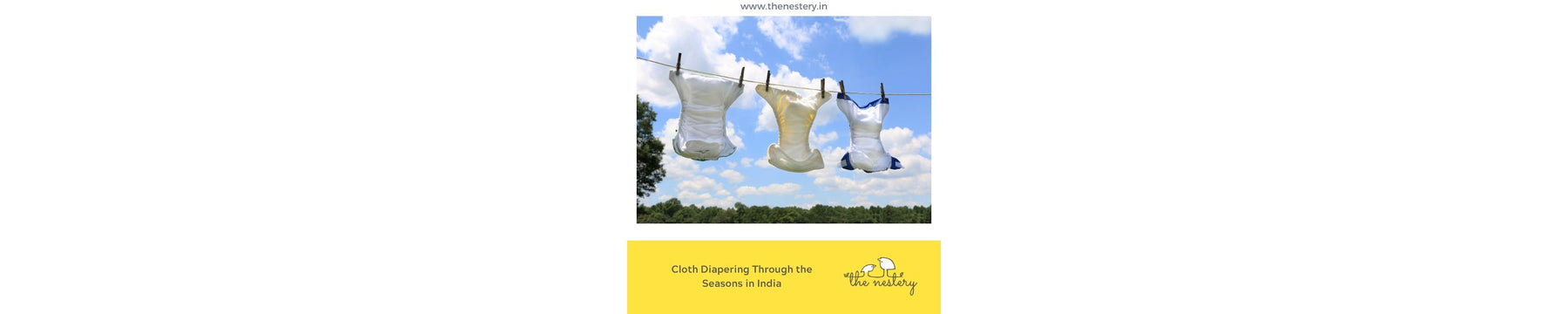 Cloth Diapering Through The Seasons in India