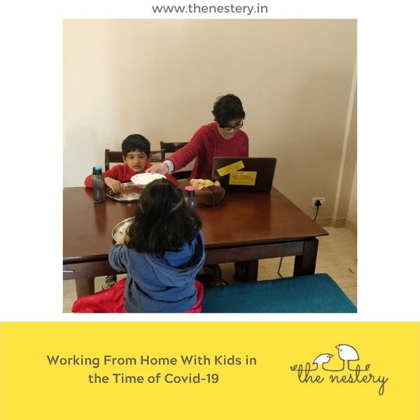 WORKING FROM HOME WITH KIDS IN THE TIME OF COVID-19