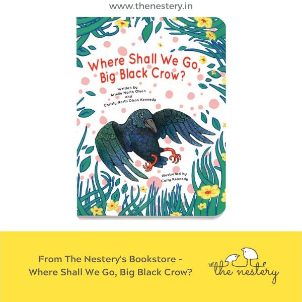 Book Review - Where Shall We Go, Big Black Crow?