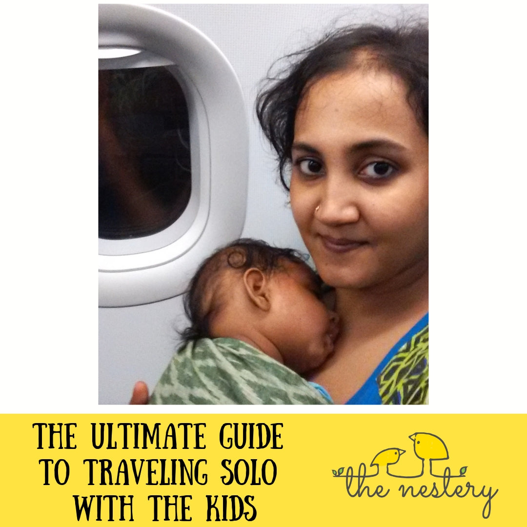 The Ultimate Guide to Traveling Solo with the Kids!