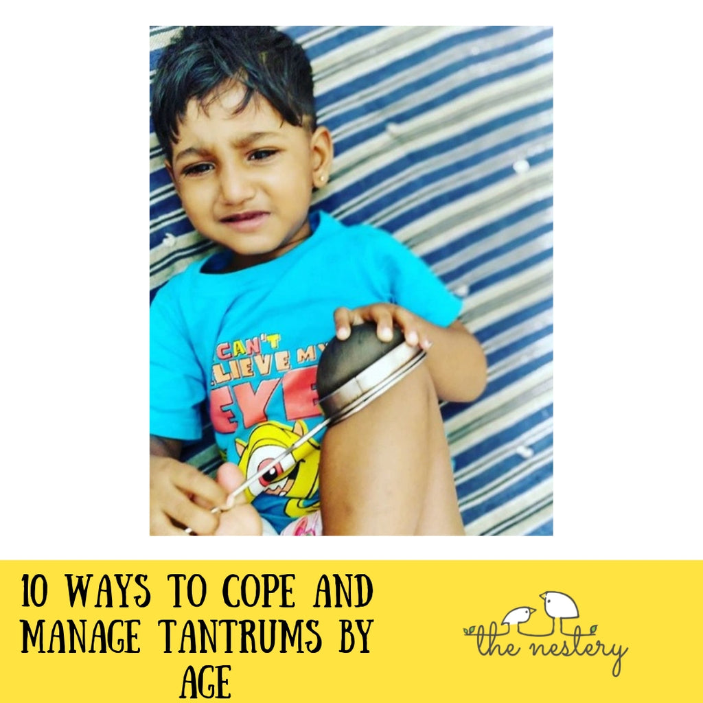 10 Ways to Cope and Manage Tantrums By Age