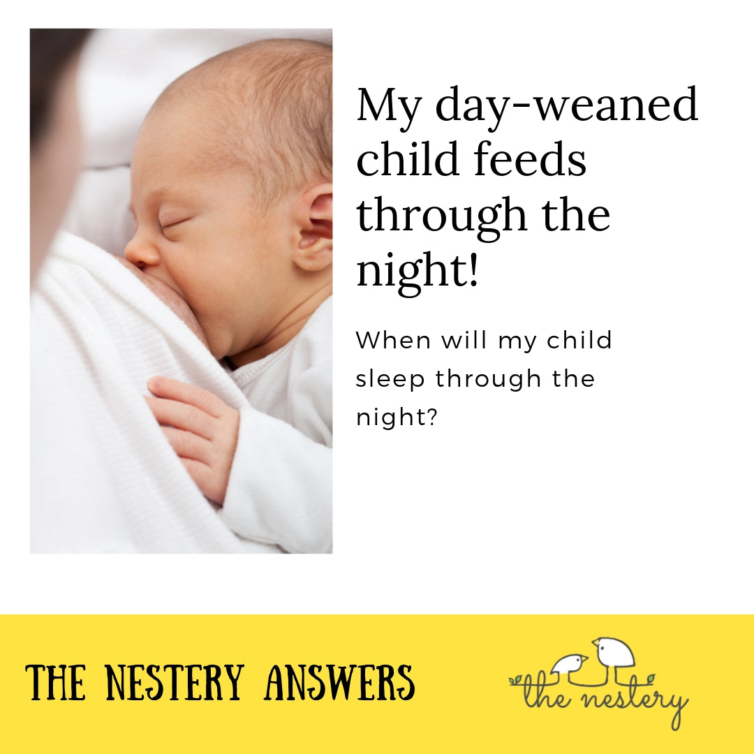 Day Weaning and Night Feeds - The Nestery Answers