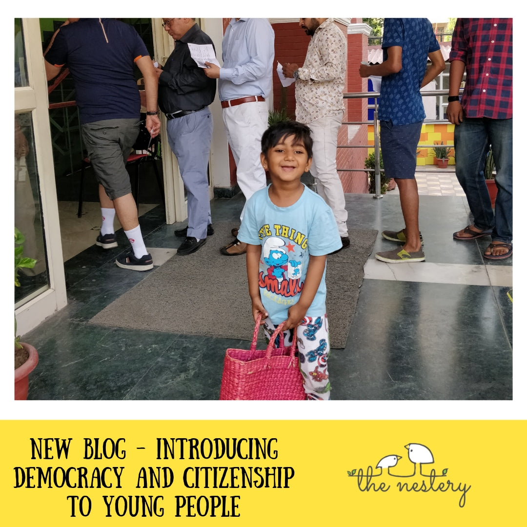 Introducing Democracy and Citizenship to Young Kids