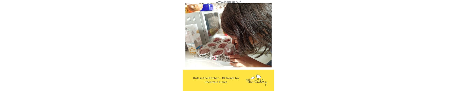 Kids in the Kitchen - 10 Treats for Uncertain Times
