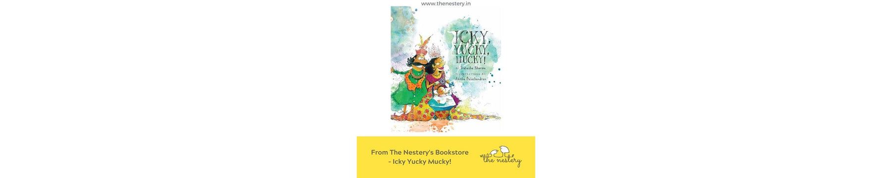 Book Review - Icky Yucky Mucky!