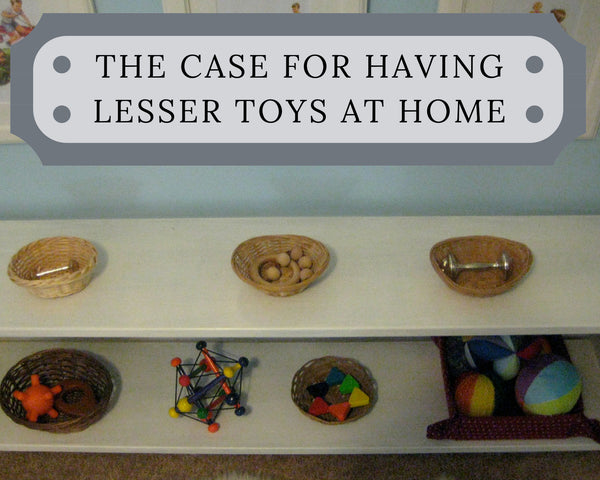 The case for having lesser toys at home