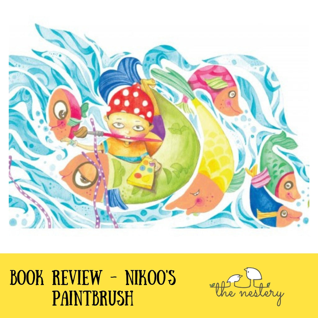 Book Review - Nikoo's Paintbrush