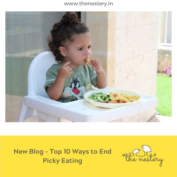 "Have a ""Picky Eater""? Read our Top 10 Ways To End Picky Eating!!!"