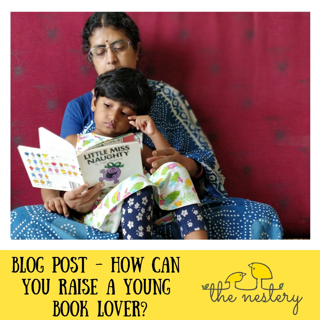 How Can You Raise A Young Book Lover