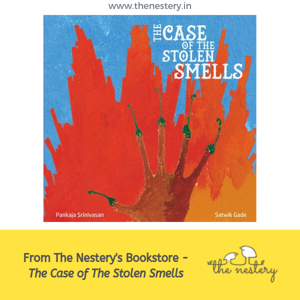 Book Review - The Case of The Stolen Smells