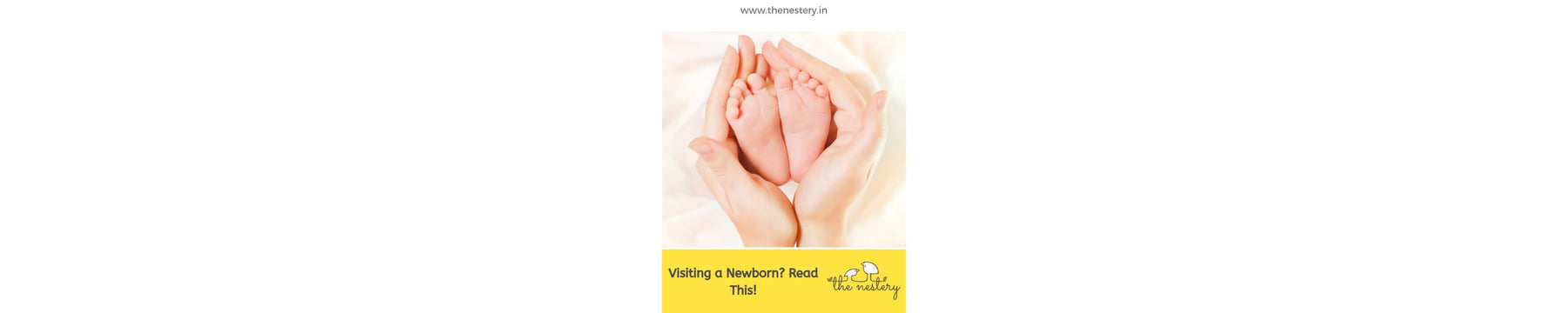 Visiting a Newborn? - Read this!