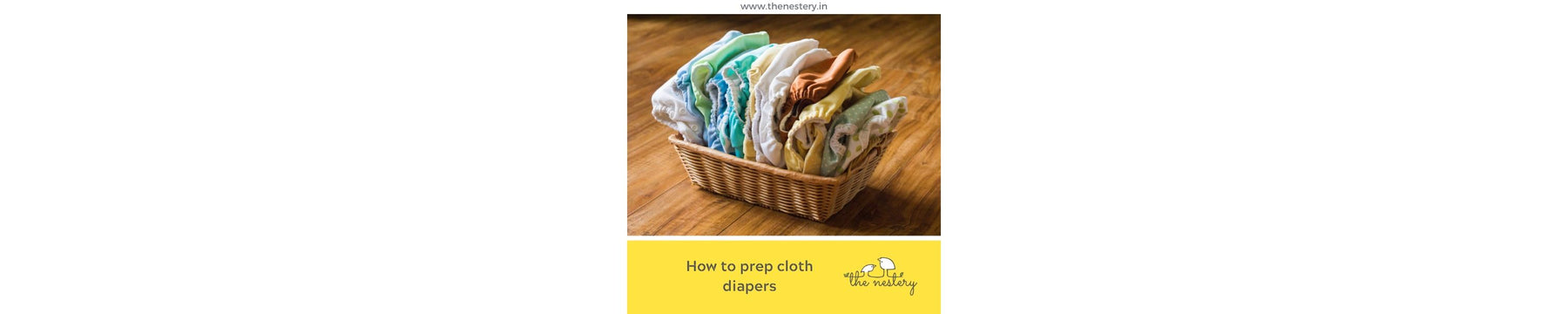 How to prep cloth diapers before use