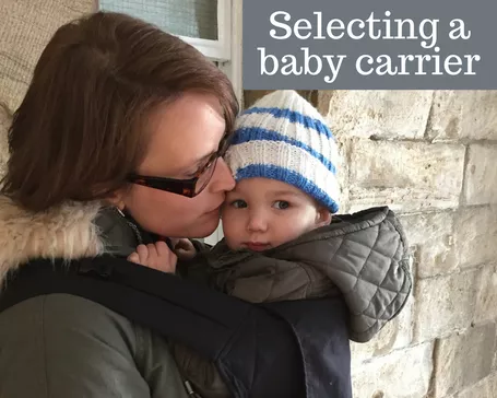 How to select and use the best baby carrier?