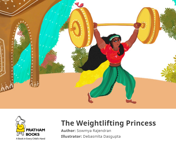 Book Review - The Weightlifting Princess