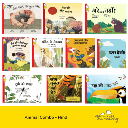 The Nestery : Pratham Books - Animal Combo - Hindi