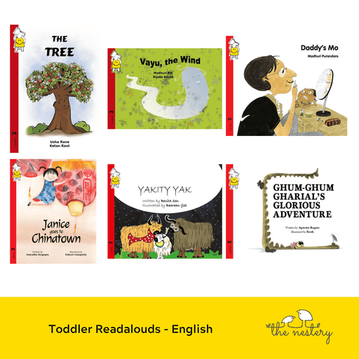 The Nestery : Pratham Books - Toddler Readalouds