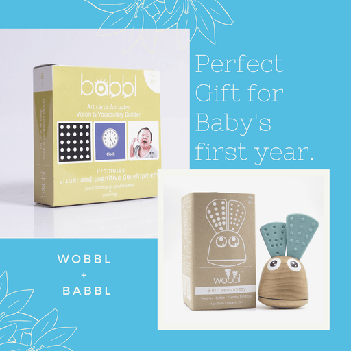 The Nestery: Kinderpass - Wobbl + Babbl - Perfect Gift Set For Newborn & Baby