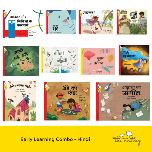 The Nestery : Pratham Books - Early Learning Combo - Hindi