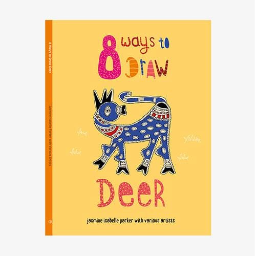 The Nestery: Tara Books - 8 Ways To Draw A Deer