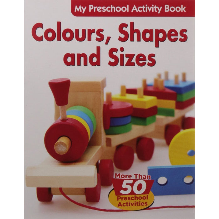 The Nestery: Pegasus - Preschool Activity Books - Colours, Shapes And Sizes