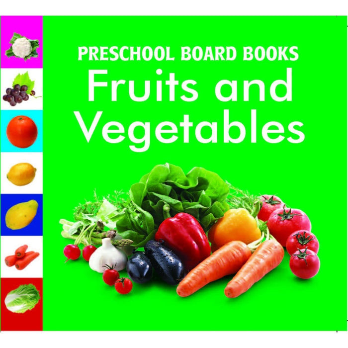 The Nestery: Pegasus - Baby Board Books - Fruits & Vegetables