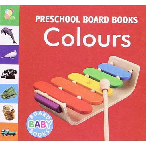 The Nestery: Pegasus - Baby Board Books - Colours