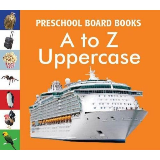 The Nestery: Pegasus - Baby Board Books - A To Z Uppercase