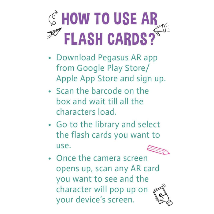 The Nestery: Pegasus - My Ar Flashcards - Things That Move Ar Flash Cards