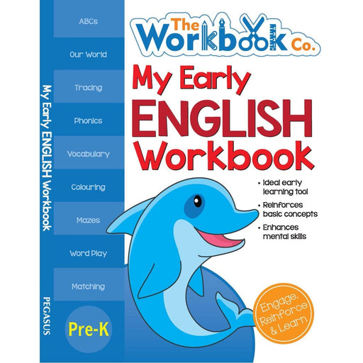 The Nestery: Pegasus - My First Workbooks - My Early English Workbook