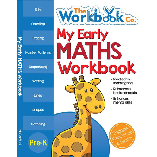 The Nestery: Pegasus - My First Workbooks - My Early Maths Workbook