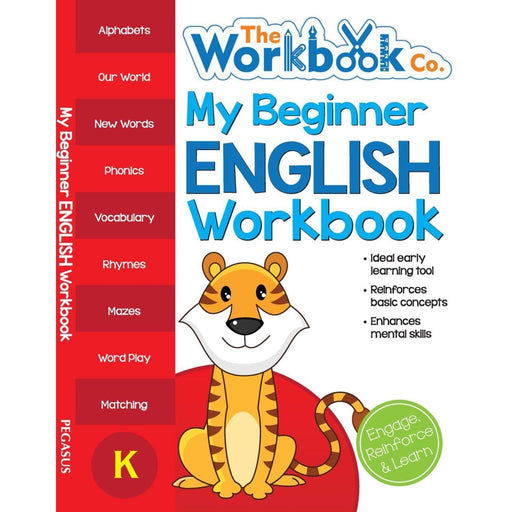 The Nestery: Pegasus - My First Workbooks - My Beginner English Workbook