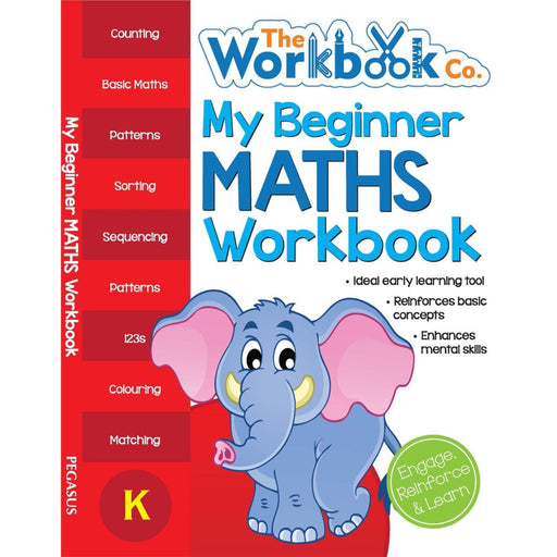 The Nestery: Pegasus - My First Workbooks - My Beginner Maths Workbook