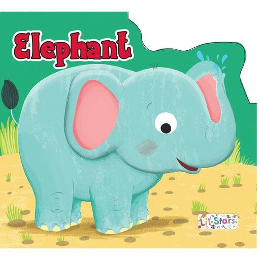 The Nestery: Pegasus - Animals Shaped Board Books - Elephant