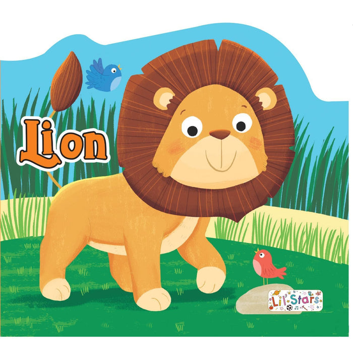 The Nestery: Pegasus - Animals Shaped Board Books - Lion