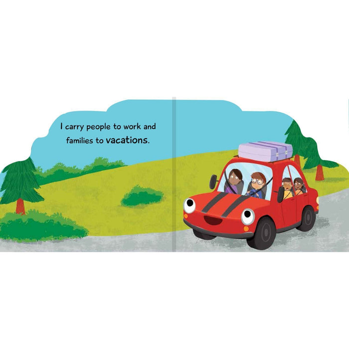 The Nestery: Pegasus - Things That Move Shaped Board Books - Car