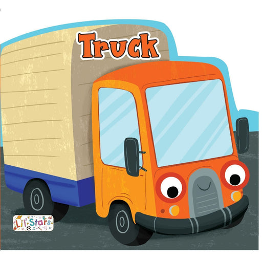 The Nestery: Pegasus - Things That Move Shaped Board Books - Truck