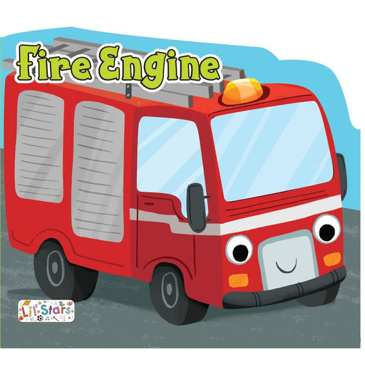 The Nestery: Pegasus - Things That Move Shaped Board Books - Fire Engine