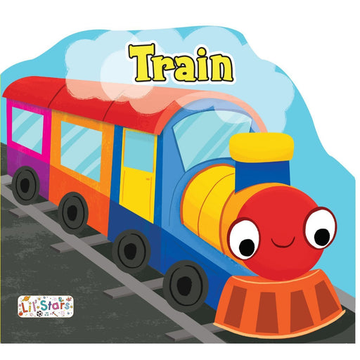 The Nestery: Pegasus - Things That Move Shaped Board Books - Train
